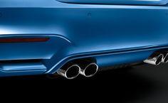 The BMW M3 Sedan in Yas Marina Blue metallic