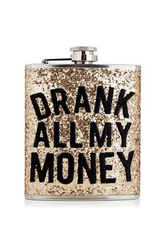 Hip flask by Skinnydip. #Topshop