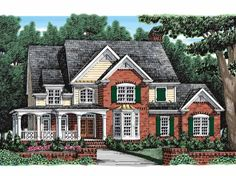 Eplans Country House Plan - Extraordinary Interior - 2824 Square Feet and 4 Bedrooms from Eplans - House Plan Code HWEPL10552