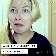 Watch this beauty video to witness DIY haircut fails that will make you cringe.