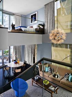 duplex penthouse suite, 6 columbus, thompson hotel