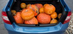 """Facebook status: """"Happy Halloween to all you ŠKODA fans out there!"""""""