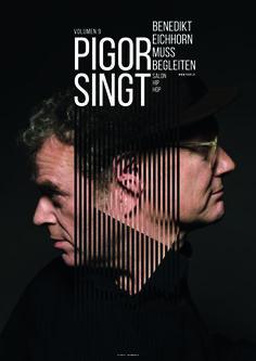 Pigor und Eichhorn - Poster - layouted by Burkhard Neie, xix