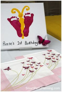 Butterfly Theme Party : 1st Birthday #ButterflyParty #KidsParties #Butterfly