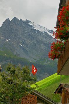 Gimmelwald, Bern, Switzerland