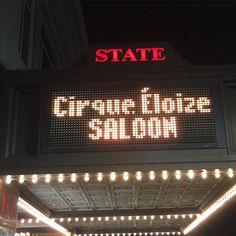 #cirqueeloizesaloon #statetheaternj