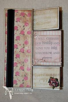 LoveFest2013D-Flip, Flap, Folds by ScrappinAbby - Cards and Paper Crafts at Splitcoaststampers