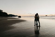 Oregon Coast Engagement