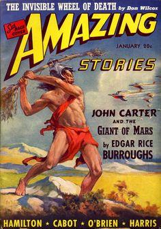 The Geeky Nerfherder: Sci-Fi, Fantasy & Horror Cover Art: J Allen St John