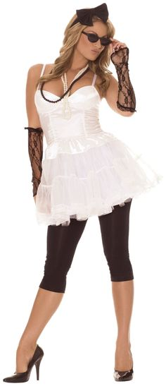 Shop at Costume Craze for sultry savings on thousands of sexy Halloween costumes for women. Save big on all sexy costumes from burlesque to hot Halloween costumes. 80s Party Costumes, 80s Halloween Costumes, 80s Party Outfits, 80s Outfit, Adult Costumes, Costumes For Women, Costume Ideas, Girl Halloween, 1980s Costume