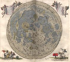 Map of the Moon (1645)
