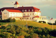 The Springhouse Hotel, Block Island, Rhode Island.  Photo by Logan Darrow