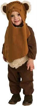 PartyBell.com - Star Wars - Ewok Infant / Toddler Costume