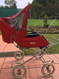 Vintage Pram, Baby Buggy, Baby Carriage, Prams, Retro, Baby Strollers, History, Children, Furniture