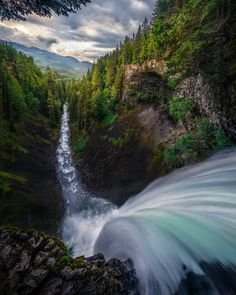 Beautiful angle of Brandywine Falls in British Colombia, near Whistler The Plunge 2 by Artur Stanisz