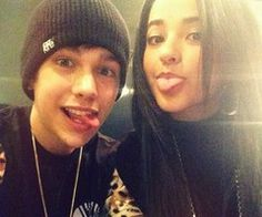Becky G  and  Austin Mahone •