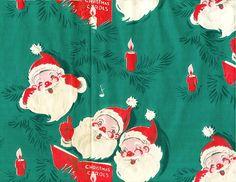 Caroling Santa wrap.