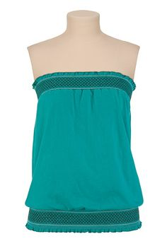 Smocked Tube Top-fun for summer