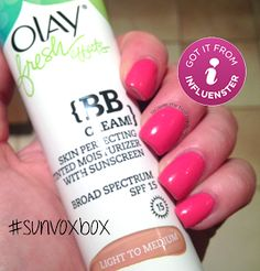 Lacquer: The Best Medicine!: Snippet: The Rest of my Influenster Sun Kissed Vox Box!