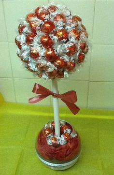 Lindor Sweet Tree, from Ornament Wreath, Ornaments, Sweet Trees, Lindor, Candy, Diy, Decor, Fiestas, Decoration