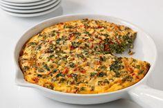 Sencilla frittata con queso receta