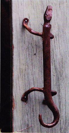 Martin Pierce luxury exotic lizard door handles and drawer pulls ...