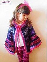Detské oblečenie - pončo Princess - 3851184_