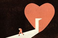 Dan Savage, Isabel Allende, Dinaw Mengestu, Chris Gethard and more tell you exactly how you should handle heartbreak. (Illustration: André da Loba)