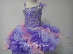 2016 New Little Rosie Short & Toddler Pageant Dresses Spaghetti Beads & Beading Rhinestone Sequins Tiered Organza Kids Formal Wear Ladies Dresses 2015 Lilac Flower Girl Dresses From Liuliu8899, $151.31| Dhgate.Com