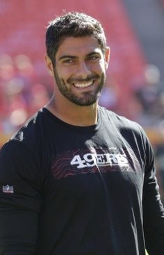 Everybody needs a little Jimmy G in their life ☺️ Beautiful Men Faces, Gorgeous Men, Beautiful Boys, Beautiful Smile, Dangerous Sports, School Cheerleading, American Football Players, Le Male, Gym Workout Tips