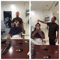 #CostantinoVitagliano Costantino Vitagliano: Barba e capelli da #ciemme #ciemmeparrucchieri #barba #autoscatto #selfie #milano #scattataconiphone6