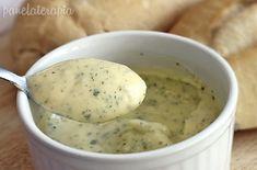 mistura pão de alho