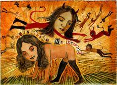 Outshining my demons- by Irene Hardwicke Olivieri