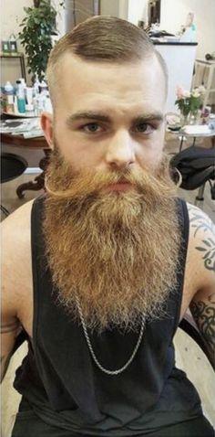 Moustache, Beard No Mustache, Bearded Tattooed Men, Bearded Men, Hairy Men, Gay Beard, Epic Beard, Great Beards, Awesome Beards