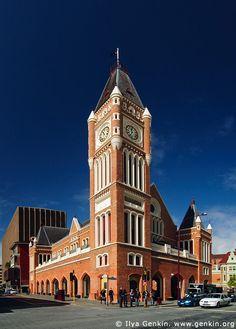 Perth Town Hall, Perth, WA, Australia.