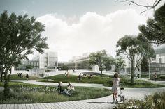 COBE planen Uniplatz in Kopenhagen / Urbane Hügel - Architektur und Architekten - News / Meldungen / Nachrichten - BauNetz.de