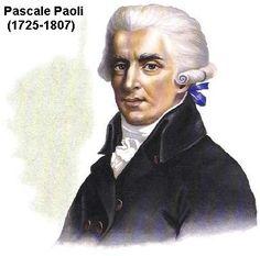 L'île de Corse (France) Pascale Paoli (1725-1807) Corsica, Cap Corse, Bonifacio, Porto Vecchio, Dan, Joker, People, Scrapbooking, Portraits