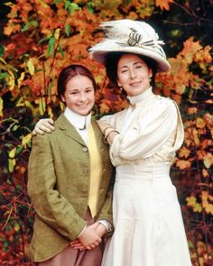 Izzy and Miss Stacey (Road to Avonlea)