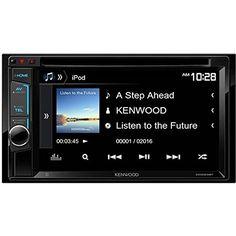 "7. Kenwood DDX23BT 6.2"" Multimedia Receiver"