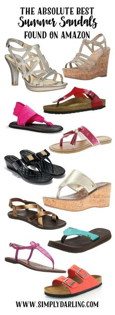 The answer to your summer wardrobe has arrived - summer sandals that can easily be delivered to your home via Amazon. Make these the staple of your summer outfits and take your outfits from casual to dressy.