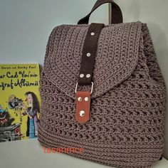 Bucket Bag, Fashion Backpack, Purses And Bags, Coin Purse, Michael Kors, Backpacks, Things To Sell, Pattern, Crocheted Bags