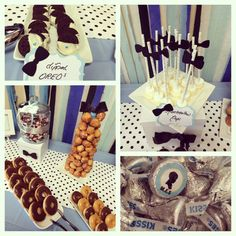 1000 Images About Baby Shower Candy And Donut Bar Bow Tie