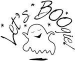 Let's BOOgie! Dancing Cartoon ghost
