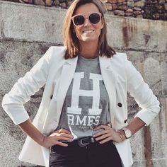 Americana @mango Camiseta @bubbleshopbcn Cinturón y gafas @primark #fol