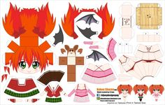 DeviantArt is the world's largest online social community for artists and art enthusiasts, allowing people to connect through the creation and sharing of art. Rosario Vampire, Animation Stop Motion, 3d Animation, Paper Toys, Paper Crafts, Anime Diys, Black Rock Shooter, Pokemon, Chibi Girl