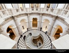 Tate Britain refurbishment of galleries and public spaces led by architect Caruso St John.