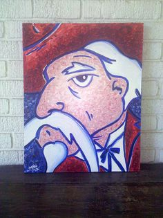 Colonel Reb Painting