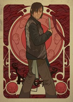 'The Walking Dead' Go Art Nouveau in Fan Art (Part 2) — moviepilot.com