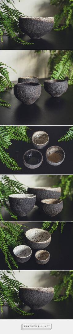 Vulcan Black Collection — Daisy Cooper Ceramics... - a grouped images picture - Pin Them All