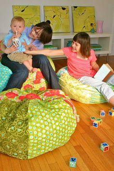 children's and adult size bean bag chair